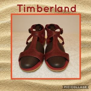 NWOB Timberland EarthKeeper Leather Sandals Sz 8.5